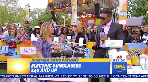Electric on GMA